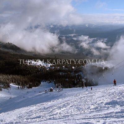 Список гірськолижних трас, витягів і підйомників Ясиня